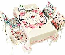 MEIE QIG Drucktischdecke, Wohnzimmer Tischdecke Rund Rechteck Kreatives Tuch Couchtisch Esstisch Tischdecke Länge 85-230 CM (größe : 140*200CM)