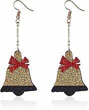 Meigold Weihnachten Ohrringe Glocke Ohrringe Damen