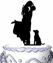 meijiafei Hochzeit Cake Topper, Groom Hold Braut