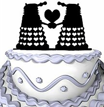 Meijiafei Wedding Cake Topper - Panzer with Hearts