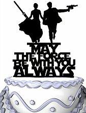 Meijiafei Wedding Cake Topper - Script May The
