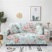 Meiju Blumen Bedruckte Sofabezug - Elastische