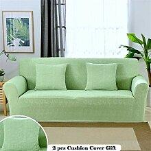 Meiju Elastisch Sofa Überwürfe Sofabezug 1 2 3 4