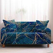 Meiju Marmor Bedruckte Sofabezug - Elastische