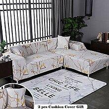 Meiju Modern Elastisch Sofa Überwürfe Sofabezug