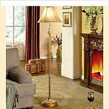 MEILING Persönlichkeit Kreativ Stehleuchte Wohnzimmer Modern Einfache Mode Nachttisch Lampe Lampen Schlafzimmer Ländlich ( Farbe : Weiß )