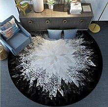 MEILINGSHU Round Carpet Wohnzimmer Couchtisch