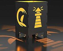 MEILLER MetallDesign Feuerkorb Leuchtturm |