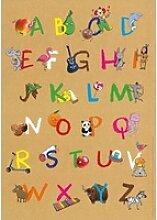 Mein buntes Abc-Poster