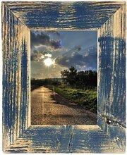 Mein Landhaus Bilderrahmen Dunkelblau 13X18