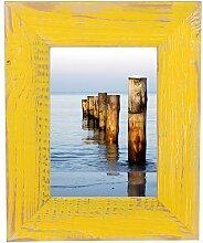 Mein Landhaus Bilderrahmen Gelb 13X18