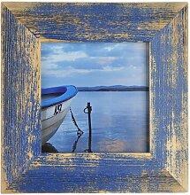 Mein Landhaus Bilderrahmen Marineblau 30X30