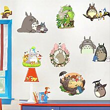 Mein Nachbar Totoro Wandaufkleber Miyazaki Cartoon