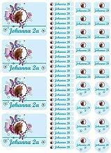 Mein Zwergenland Namensaufkleber Stickerbogen