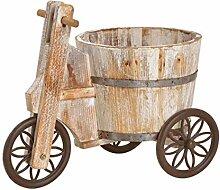 meindekoartikel Pflanzgefäß Blumenwagen Dreirad