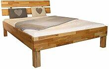 MeinMassivholz Massivholzbett/Holzbett Buche Typ