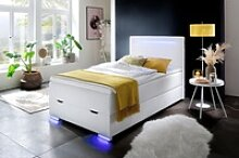 meise.möbel Boxspringbett, mit LED-Beleuchtung,
