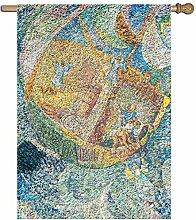 Meishikaeu Cndy Sky Garten-Flagge, einseitig, 68,6