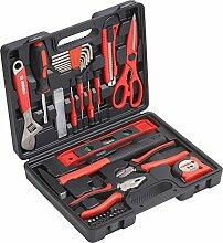 Meister Haushaltskoffer 44-teilig - Werkzeug-Set -