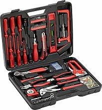 Meister Haushaltskoffer 60-teilig - Werkzeug-Set -