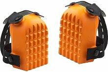 Meister Knieschoner orange, 1 Paar, 4491030