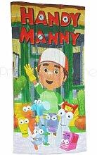 Meister Mannys und Tools Beach Badetuch für Kinder
