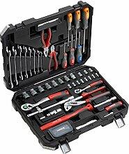 Meister Werkzeugkoffer 76-teilig - Werkzeug-Set -