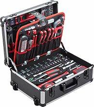 Meister Werkzeugtrolley 156-teilig - Werkzeug-Set
