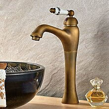 MEIXI-Messing Waschbecken Wasserhahn Mischbatterie