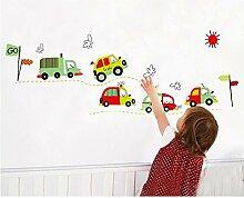 MEIXIA Auto Wandaufkleber Kindergarten