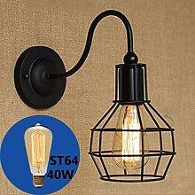 MEIXIAN Wandleuchte Wandlampe Vintage Wandlampe