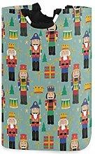 Meiya-Design Großer Wäschekorb Weihnachten,