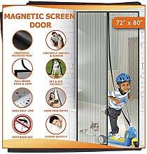 Meiz Magnetischer Fliegengitter-Vorhang, für