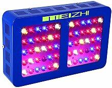 MEIZHI Pflanzenlampe, LED Grow Lampe 300W, Vollspektrum für Zimmerpflanzen Schaltbar Gemüse und Blüte Reflektor Serie