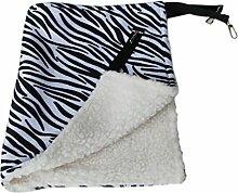 MeiZiWang Hängende Katze Hängematte Haustierbedarf,Zebra-35*35