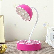 MeiZiWang LED Ladenachtlicht Kreative Mini-Schlafzimmer Nachttischlampen Fruchtform Lampe,Purple