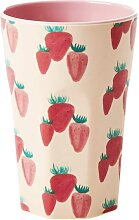 Melamin Becher Latte Cup Strawberry