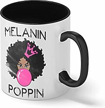 Melanin Poppin For Black Rights Empower Princess