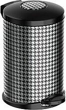 Meliconi 14015922806 Opera Mülleimer, Metall, Weiß, 25 x 25 cm