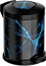 Meliconi Opera Energy Treteimer, Metall, Schwarz,