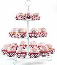 Melidoo 24er Cupcake Muffin Dessert Ständer