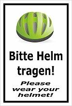 Melis Folienwerkstatt Aufkleber – Bitte Helm
