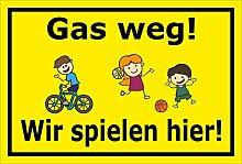 Melis Folienwerkstatt Aufkleber - Gas Weg -