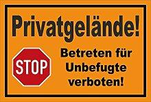 Melis Folienwerkstatt Aufkleber - Stop - Halt -
