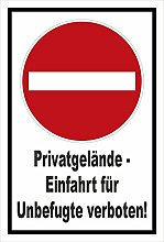 Melis Folienwerkstatt Aufkleber - Verbot der