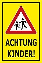 Melis Folienwerkstatt Schild - Achtung Kinder -