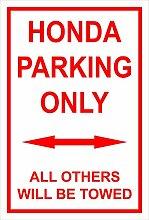 Melis Folienwerkstatt Schild – Honda parking