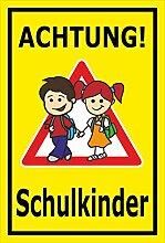 Melis Folienwerkstatt Schild - Schul-Kinder -