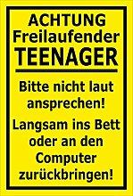 MelisFun Achtung - Freilaufender Teenager -