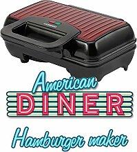 MELISSA 16250060 Burger Maker elektrisch 800 Watt,
